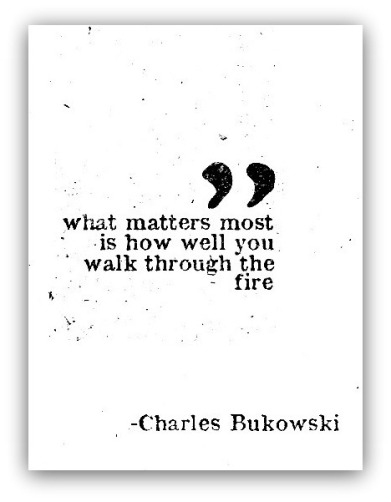What matters most...