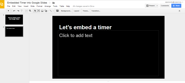 google-slides-timer